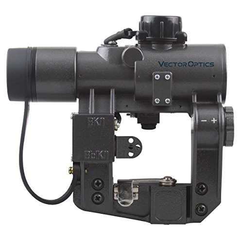 TAC Vector Optics Hunting SVD Dragunov 1x28 Red Dot Scope Sight