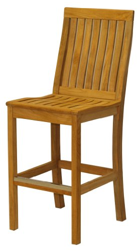 Three Birds Casual Monterey Bar Chair, Teak