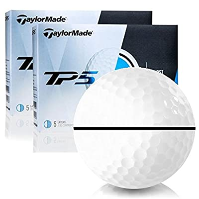 Taylor Made TP5 Double Dozen with Black AlignXL