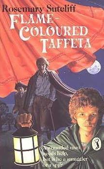book cover of Flame-coloured Taffeta