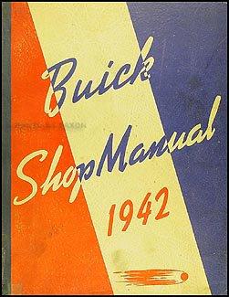 1942 Buick Repair Shop Manual Original