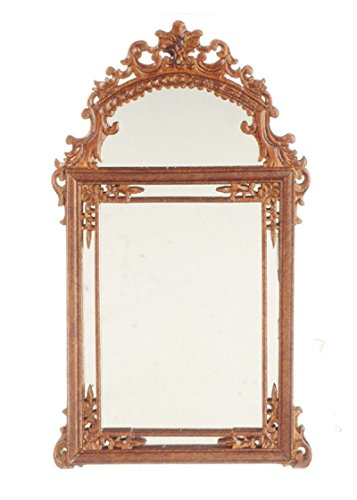 Dollhouse Miniature Bespaq Garfield Mirror in (Bespaq Dollhouse Miniatures)