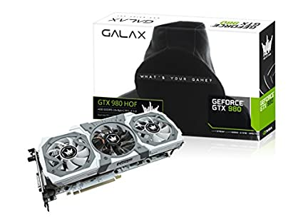 GALAX GeForce GTX 980 HOF 4GB GeForce GTX 980 4GB GDDR5 ...