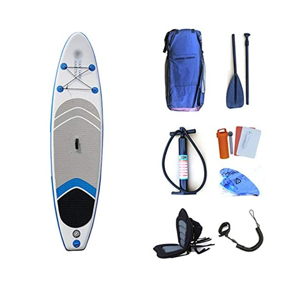 Kanqingqing-Sport Stand Up Paddel Gonfiabile SUP Gonfiabile Stand Up Paddle Consiglio Comodo Gonfiabile SUP Surfing l… 1 spesavip