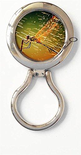 BlackKey Dragonfly Magnetic Metal Eyeglass Badge Holder, Eye Glass Holding Brooch -2303