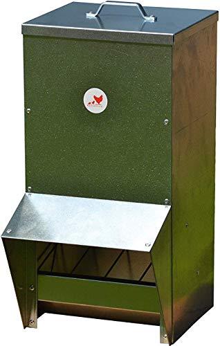 Chicken Feeder Rainproof Outdoor -Metallic (25 LBS)