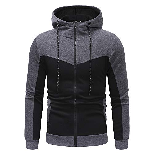 WOCACHI Final Clear Out Mens Tracksuit 2 Piece Sets Patchwork Sweatshirt Tops Pants Hooded Sports Suit Black Friday Cyber Monday Hoodies Jackets Sweatpants Pullover Autumn Winter Long Sleeve -