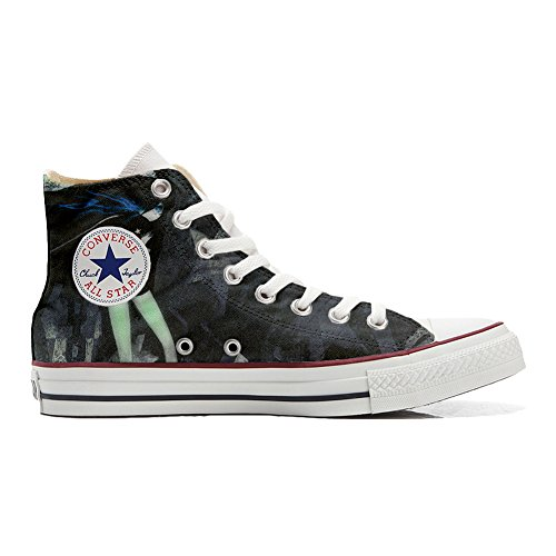 Converse Customized Chaussures Coutume (produit artisanal) Sexy Dark