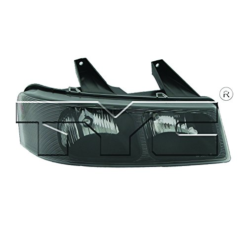 TYC 20-6581-00-1 Right Replacement Head Lamp
