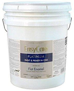 True Value ECPFP-5G EasyCare Platinum Paint Primer with Stain Blocker 5-Gallon Pastel Base Interior Flat Enamel