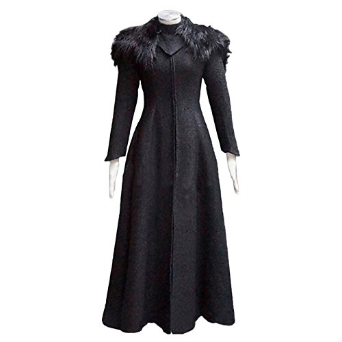 Game Of Thrones Cersei Costume (Game of Thrones Dress Cosplay Queen Cersei Lannister Black (Large))