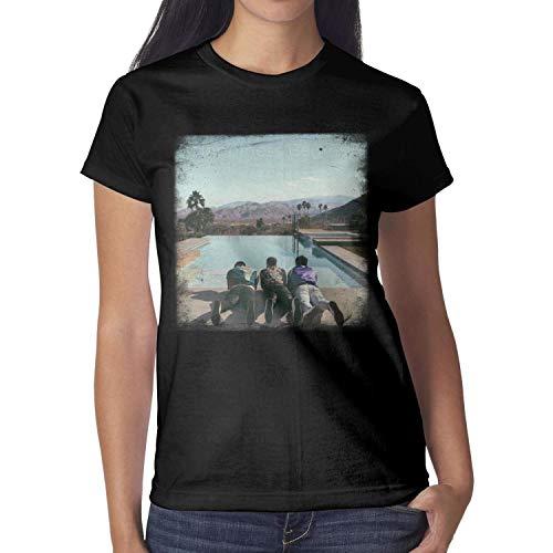 (Women Jonas-Brothers-Happiness-Begins-Album- t-Shirt Short-Sleeve Cotton)