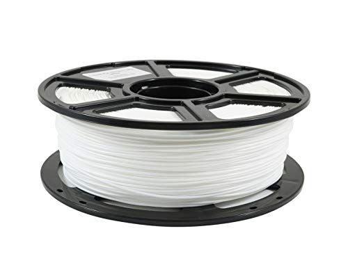 WOL 3D Flashforge PLA 3D Printer Filament (White,1.75mm)