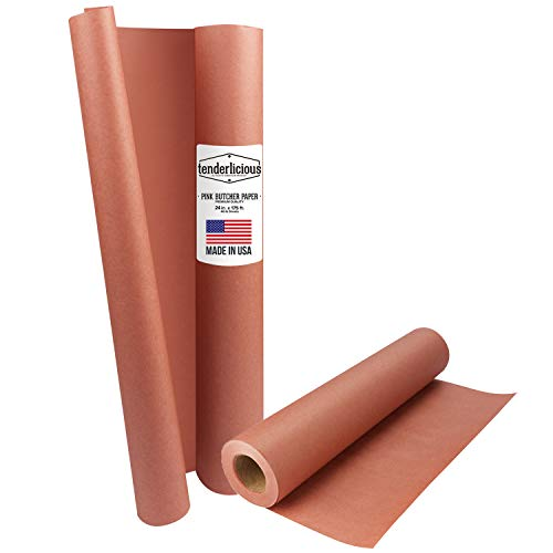 Pink Butcher Kraft Paper Roll product image