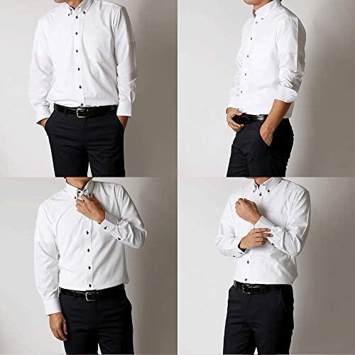(ビジネススタイル アルフ) businessstyle alfu ワイシャツ メンズ 福袋 3枚セット Yシャツ メンズ 形態安定 ボタンダウン レギュラー/al-fuk-3fix