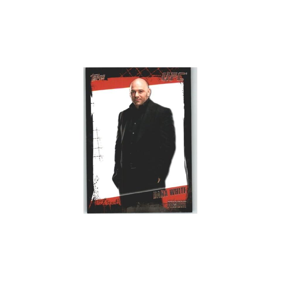 2010 Topps UFC Trading Card # 167 Dana White (Ultimate