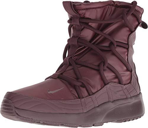 Nike Women's Tanjun High Rise Shoe, Burgundy Crush, 8 (Womens Nike Snow Boots)