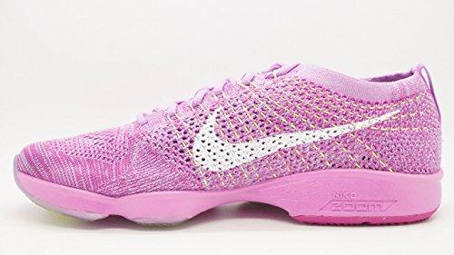 Zoom glow Wmns Nike Tenis Agility vlt fchs Violeta fchs flsh de para Zapatillas white Flyknit Mujer EFBTqUnBP