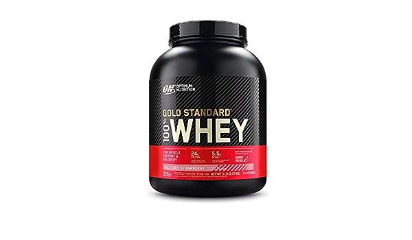 Optimum nutrition Whey gold standard - 2,25 kg White ...