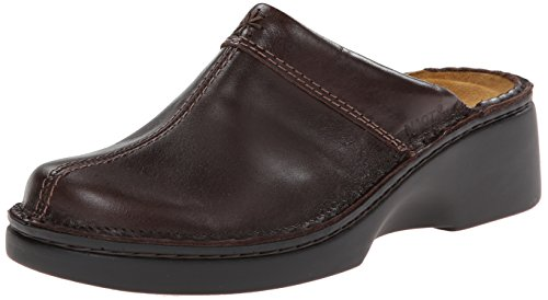 Naot Mujeres Darma Mule Walnut Leather