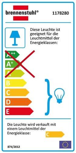 Brennenstuhl Halogenstrahler mit Bewegungsmelder Infrarot Farbe Flutlicht ideal als Baustrahler wei/ß Au/ßenstrahler IP44 gepr/üft, 120 Watt