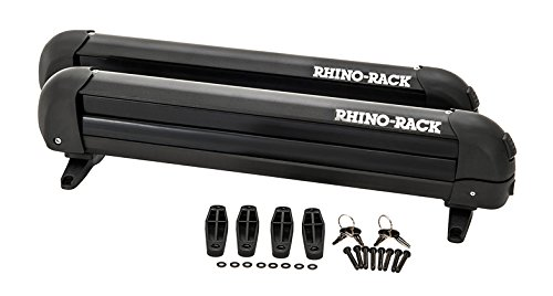Rhino Rack Ski and Snowboard Carrier - (4 Skis or 2 Snowboards) by Rhino Rack