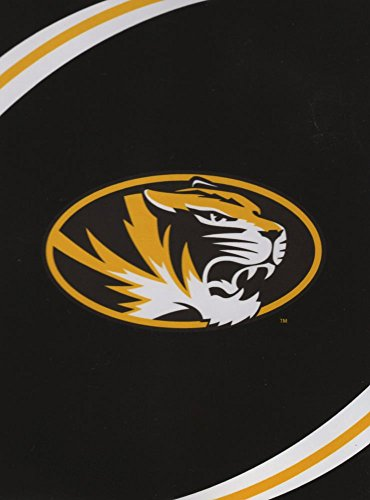 The Northwest Company NCAA Missouri Tigers Force Plush Raschel Throw, 60