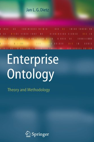 Enterprise Ontology: Theory and Methodology