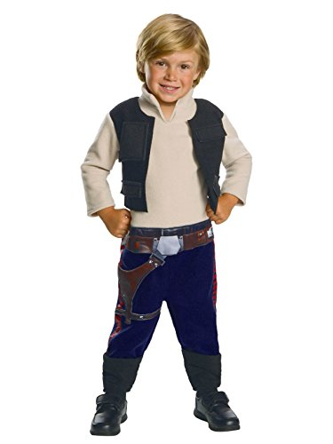 Rubie's Star Wars Child's Classic Han Solo Costume, 3T4T