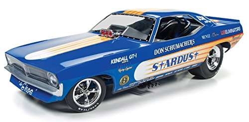 Autoworld AW1179 Don Schumacher's 1972 Plymouth Cuda Stardust (Bobby Rowe) Funny Car Limited Edition to 750pcs 1/18 Model Car