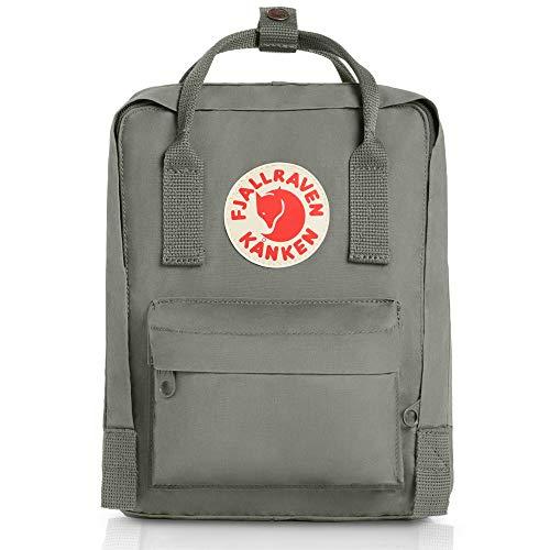 Fjallraven - Kanken Mini Classic Backpack for Everyday, Fog