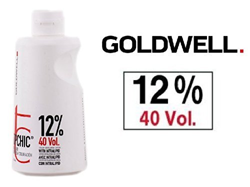 Goldwell Topchic Hair Color Coloration Cream Developer Lotion (includes Sleek Tint Brush) 32 oz (3% / 10 Volume) Topchick by Goldwell