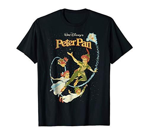 Disney Peter Pan Darling Flight Vintage Graphic T-Shirt