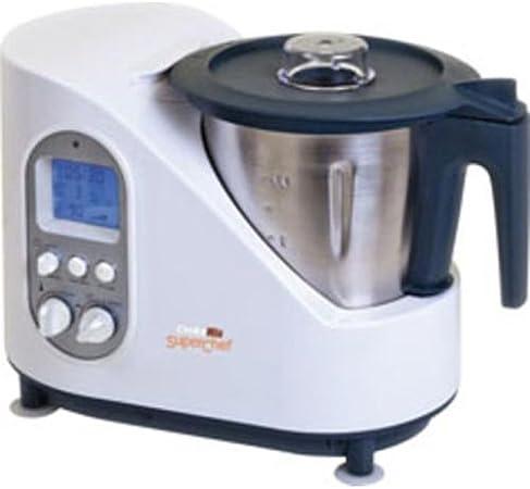 Superchef SC800 - Robot de cocina, 2 litros, 12 funciones, cocina todo tipo de platos: Amazon.es: Hogar