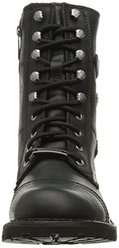 Negro Boots Leather Davidson Balsa Womens Harley aSnwqZAnF