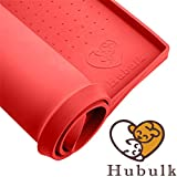 "Hubulk Dog Cat Food Feeding Mat L (19""x12"") XL"