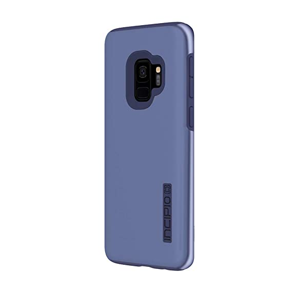 huge selection of c468d c5dbf Incipio DualPro Samsung Galaxy S9 Case with Shock-Absorbing Inner Core &  Protective Outer Shell for Samsung Galaxy S9 (2018) - Iridescent Light Blue
