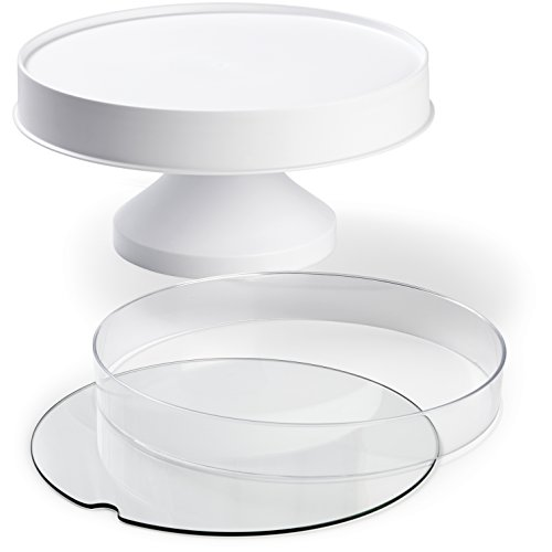 Wilton 307-2503 Display Your Way Customizable Cake Pedestal, White