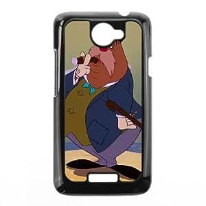 HTC One X Phone Case Black Alice in Wonderland The Carpenter DYW5148753