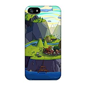 (ADv3839FelR)durable Protection Cases Covers For Iphone 5/5s(cartoons Adventure Time) wangjiang maoyi by lolosakes