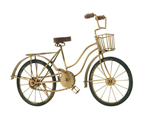 Deco 79 Metal Replica Bicycle, 19 by 12-Inch (Wall Bicycle Sculpture)