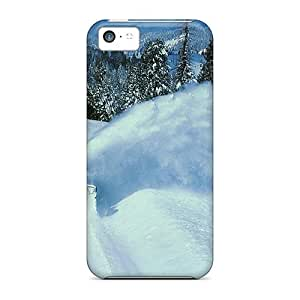 Case Cover Protector For iPhone 5 5s Train In Snow Case