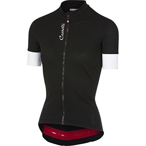 Castelli Anima 2 Full-Zip Jersey - Women's Black, S