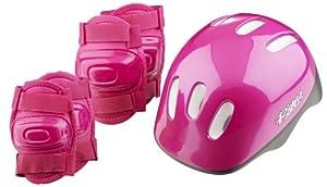 Girls Bike Helmet And Pads Set By Riderz Amazon Co Uk