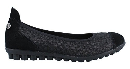 looking for cheap online cheap 2014 new Bernie Mev Women's Bella Me Ballet Flat Black Metallic buy cheap clearance store countdown package cheap online cheap sale with mastercard vN5Dvsm
