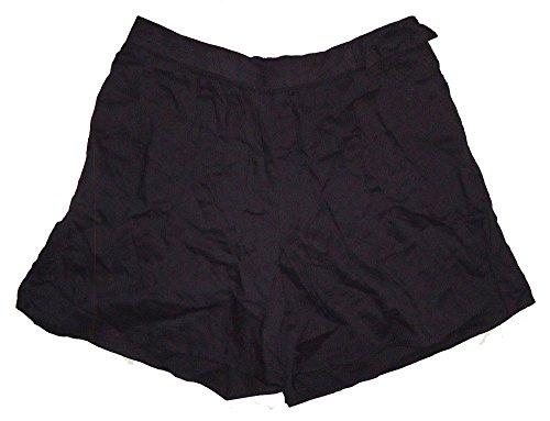 GAP Kids Girls Black Woven Bow Elastic Waist Shorts 8 Plus ()