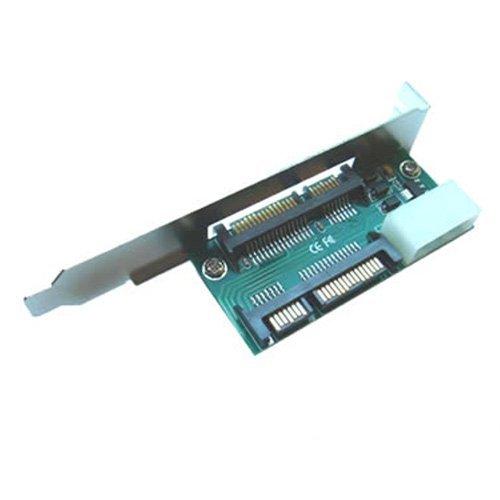 SATA 22 Pin Adapter Bracket Panel
