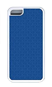iPhone 5C Case, Personalized Custom Rubber TPU White Case for iphone 5C - Wallpaper Blue Cover