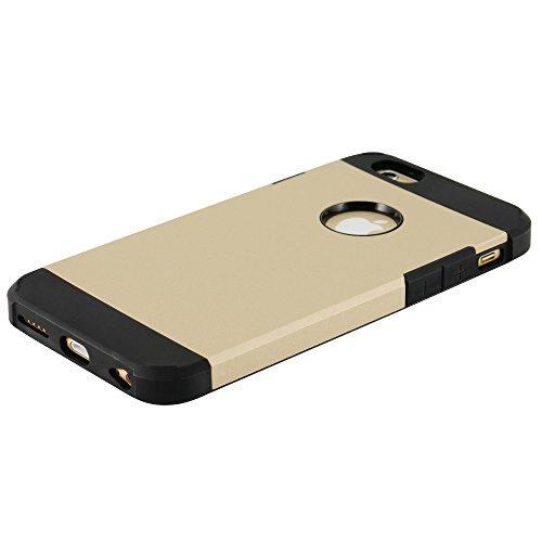 N72- TPU Backcover für Apple iPhone 6 ( 4,7 Zoll ) Bumper Schutzhülle in Beige