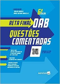 Reta final OAB - questões comentadas - 6ª edição de 2019